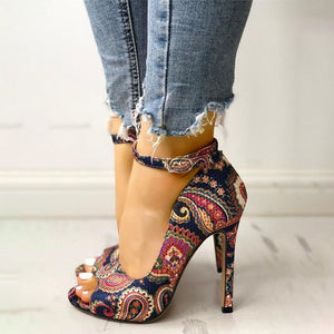 Summer Vibes High Heels