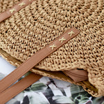 Load image into Gallery viewer, Pure Rattan Shoulder Bag