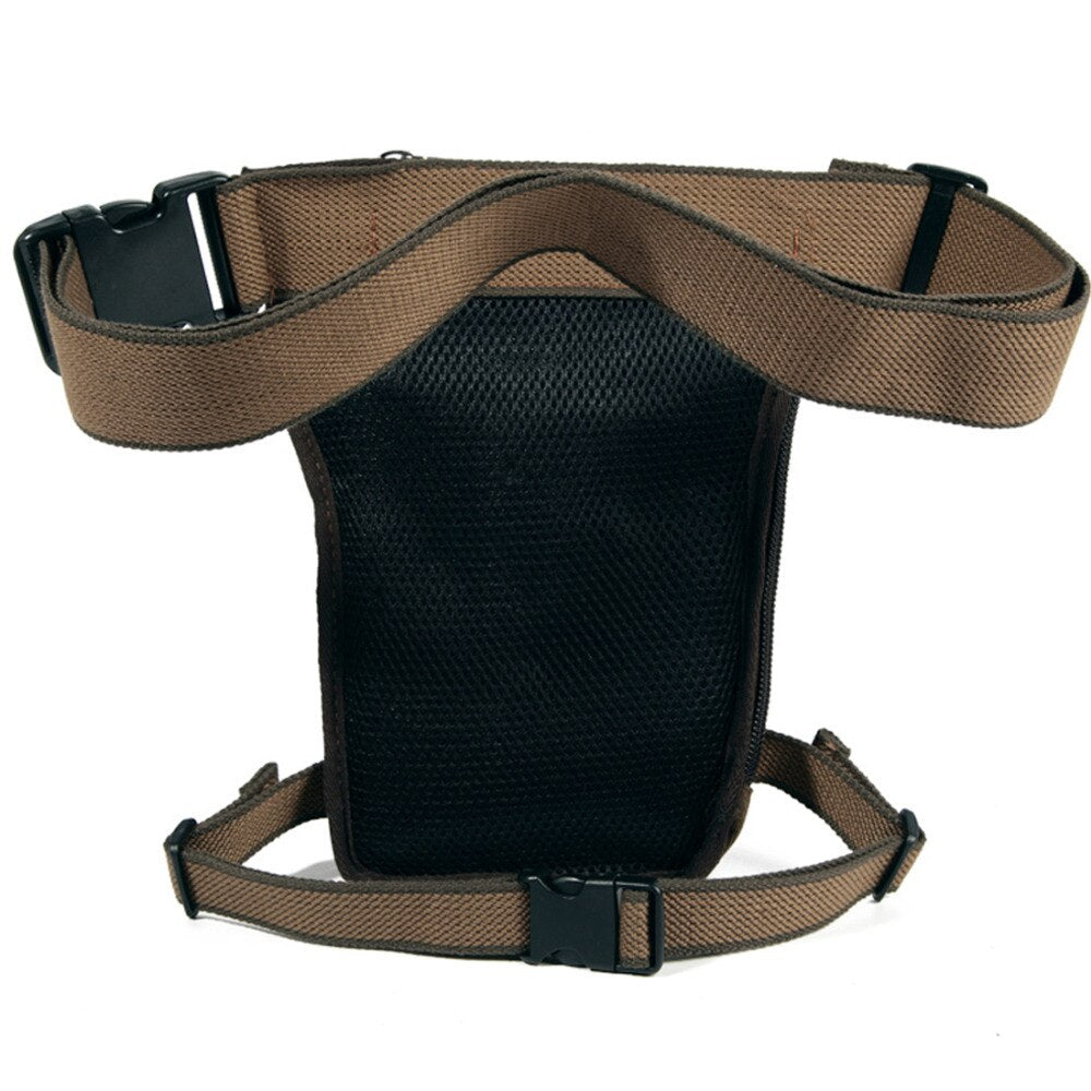 Rugged Travelor Canvas Hip Pack