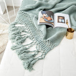 Load image into Gallery viewer, House Crafts Hand Knitted Blankets