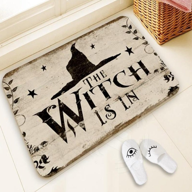 Horror Home Witch Mat