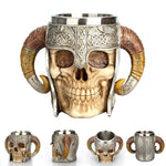 Load image into Gallery viewer, Eerie Mugs Skull Cups