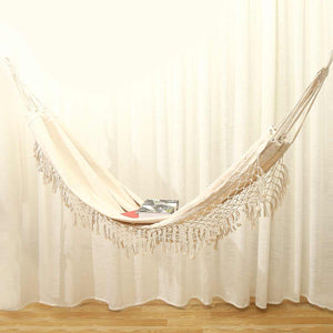 Natural Relaxation Macrame Hammock