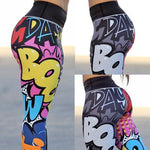 Load image into Gallery viewer, Girly Heroes Comic Leggings