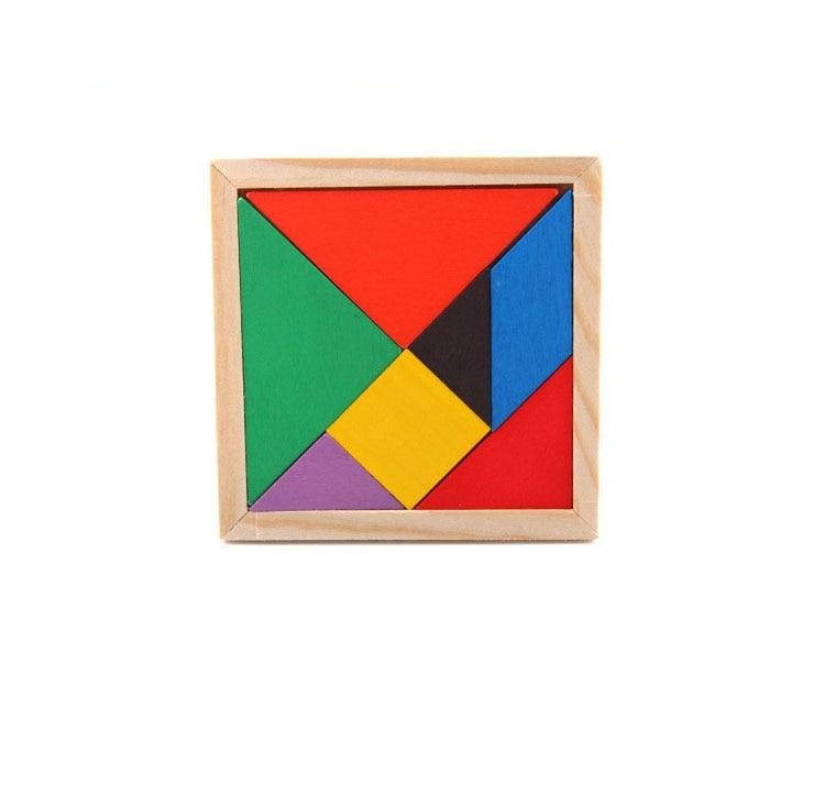 Brain Trainers Wood Puzzles