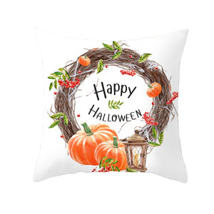 Seasonal Homes Pumpkin Pillowcases