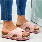 Load image into Gallery viewer, Beauty Feet Platform Sandals