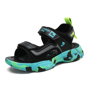 Mountain Top Kids Velcro Sandals