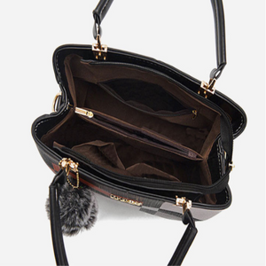 The Emelia Leather Crossbody