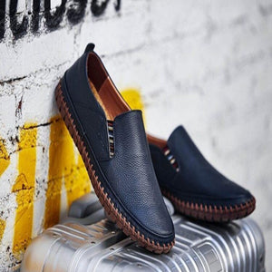 Dashing Leather Men's Loafers