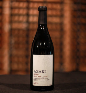 Azari Vineyards Estate Sonoma Coast Shiraz 2012