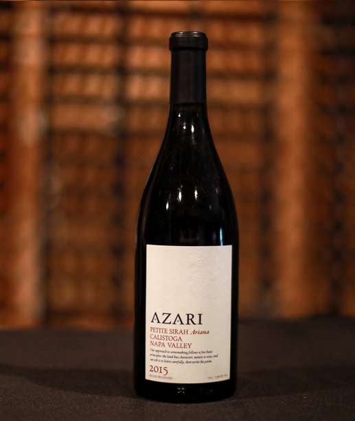Azari Vineyards Sister Estate Napa Valley Petite Sirah 2015 Arianna