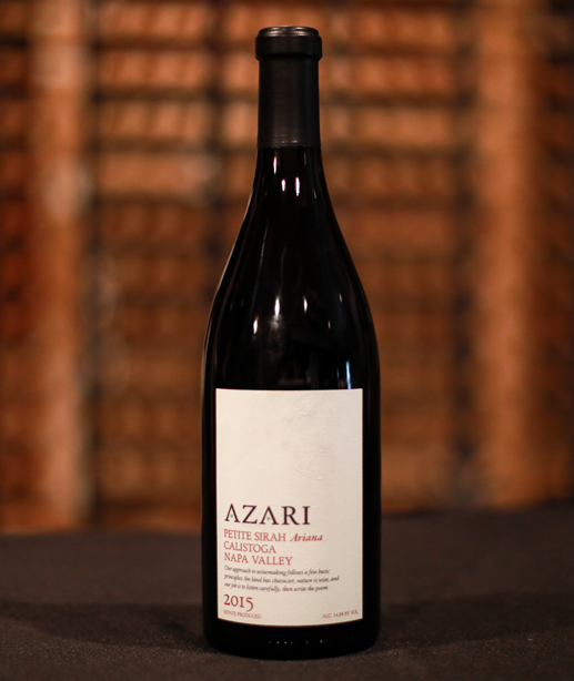 Azari Vineyards Estate Sonoma Coast Shiraz 2016