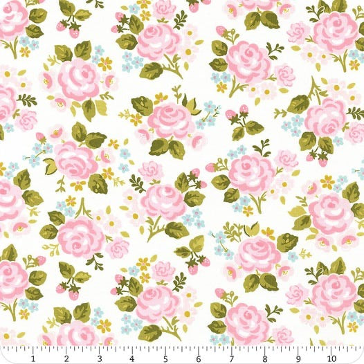 Milk and Honey Main - Cream - 1/2 Yard