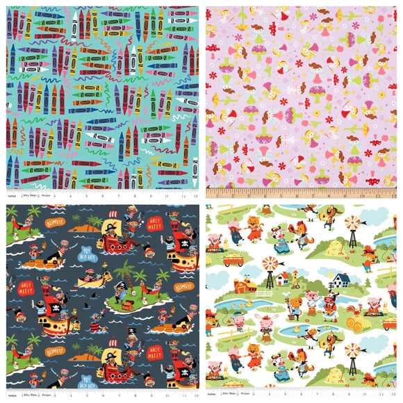 #momofboth Fat Quarter Bundle