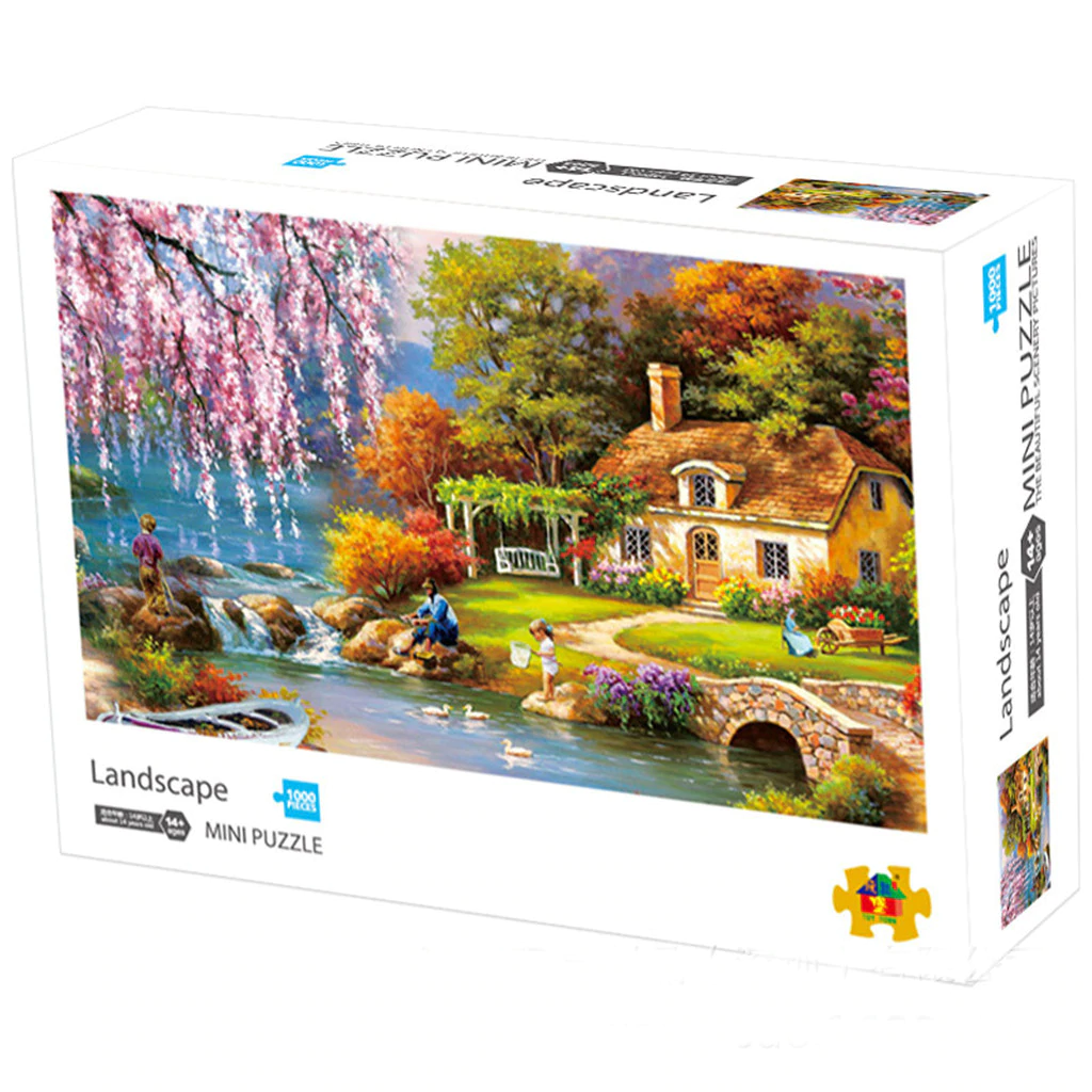 Landscape 1000 pieces Jigsaw Puzzle