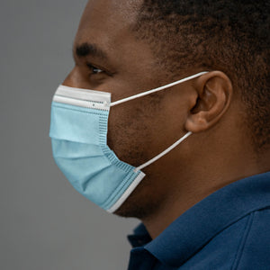 3-Ply Surgical Masks, 2,500-Pack ($0.49 each)