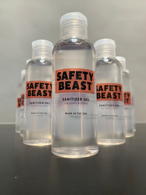 Sanitizer Gel 4 oz bottle - 10 Pack