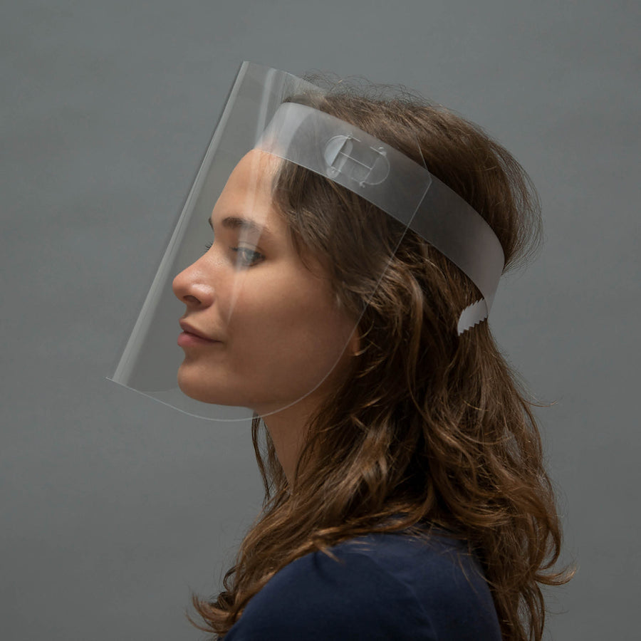 Clear Face Shields - 100 Pack ($1.29 each)