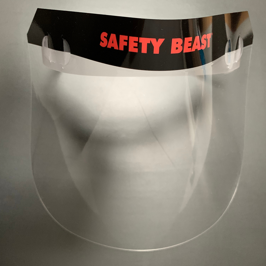 Custom Logo Face Shield - 25,000 Pack