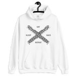 Eat Sleep Race Repeat Hoodie