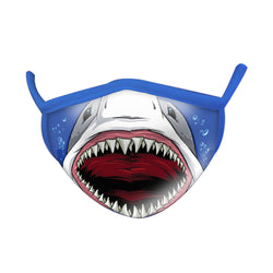 Wild Smiles Shark Face Mask ADULT