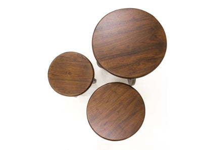 Teak Nest Of 3 Tables