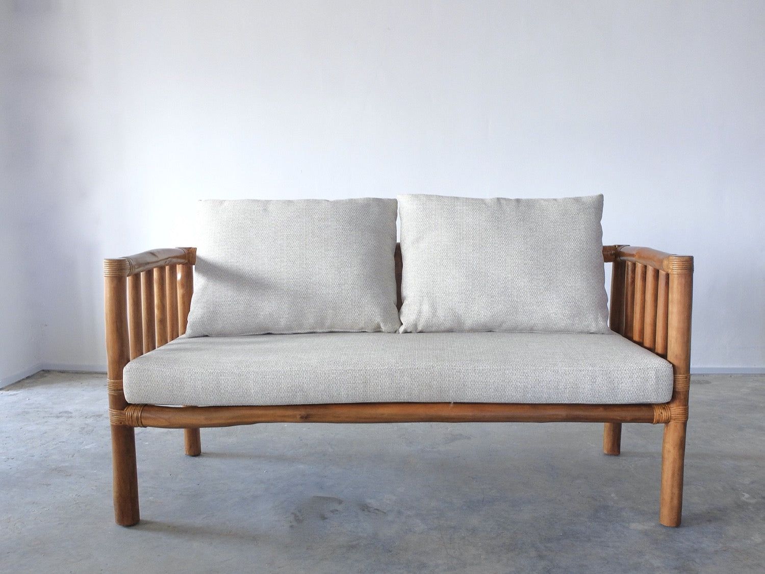 Gelam Wood Sofa Bench