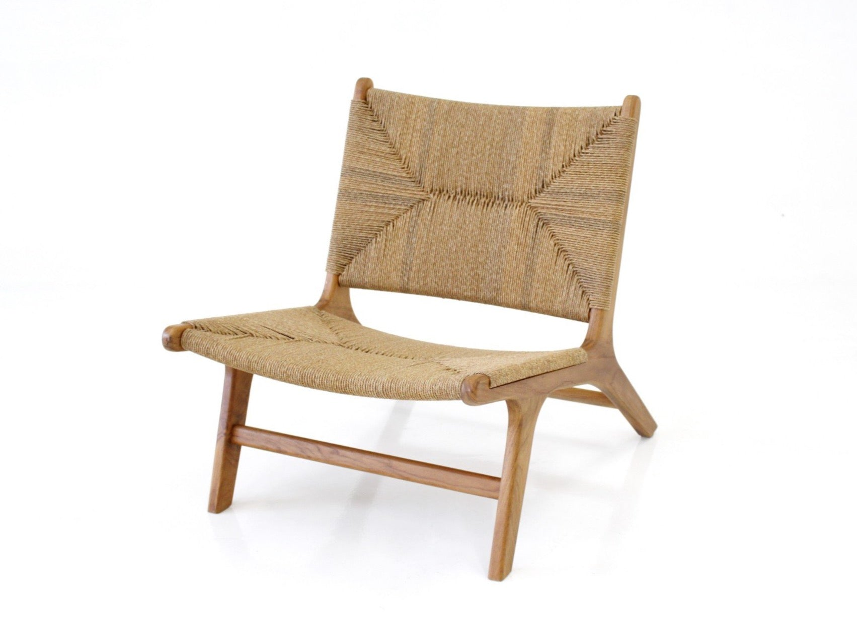 Sunday Lounge Chair in Teak Frame