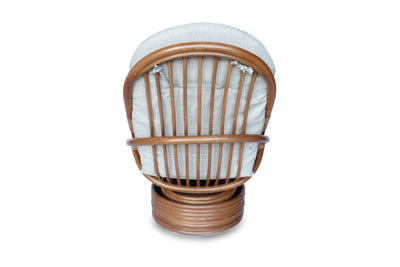Rattan Swivel Rocker Chair