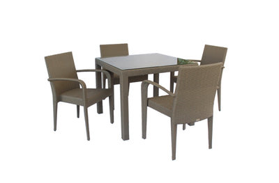 Florence 4 Seater Dining Set