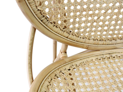 Wally Rattan Lounge Chair