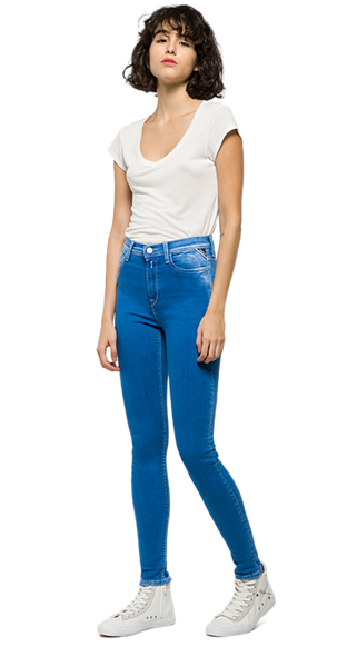 Replay Joi high waisted blue Jeans