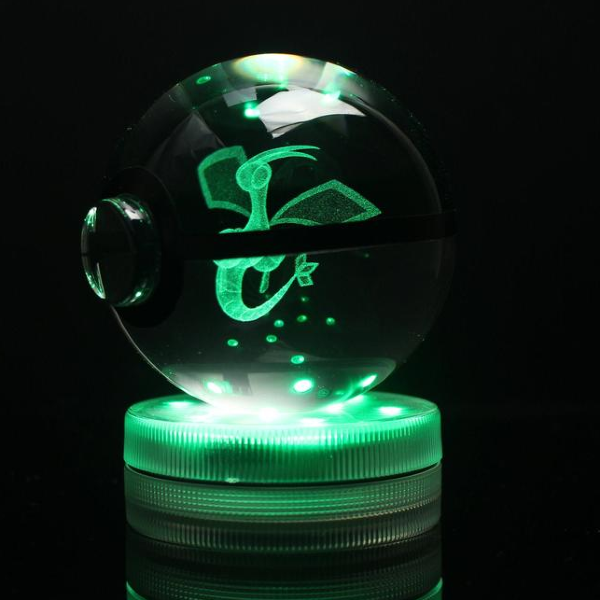 Flygon Glowing Crystal Pokeball
