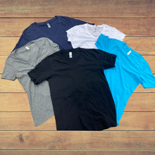 Load image into Gallery viewer, Lot - Canvas V Neck Shirts w/ Your Custom Print
