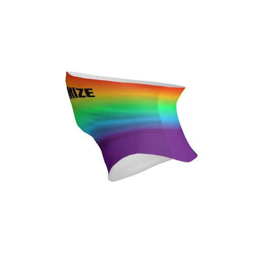 Customizable Neck Gaiter -  Rainbow