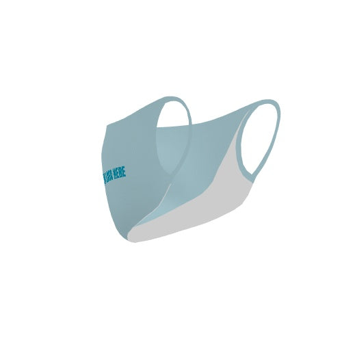 Customizable No Sew Face Cover - logo-blank-LightBlue