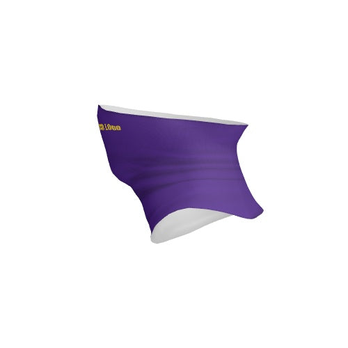 Customizable Neck Gaiter - logo-Purple