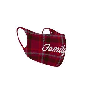 Customizable No Sew Face Cover - Plaid