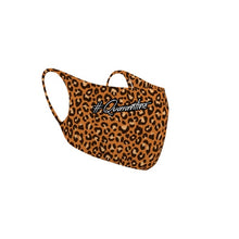 Load image into Gallery viewer, Customizable No Sew Face Cover - Cheetah Print