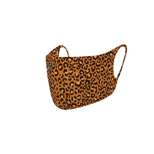 Customizable No Sew Face Cover - Cheetah Print