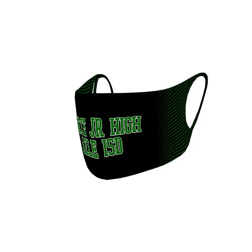 Customizable No Sew Face Cover - Forte jr high Azle Isd