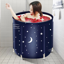 Load image into Gallery viewer, Portable Adult Foldable Bathtub Bucket
