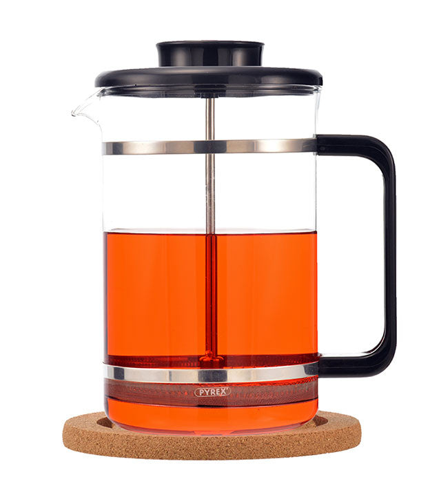 French Press: Grosche Mombasa With Cork Base - 1500Ml/51 Fl. Oz - Package Of 2 - French Press
