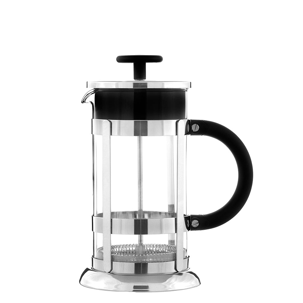 French Press: Chrome - 350ml/11.8 fl. oz/3 cup - Package of 4