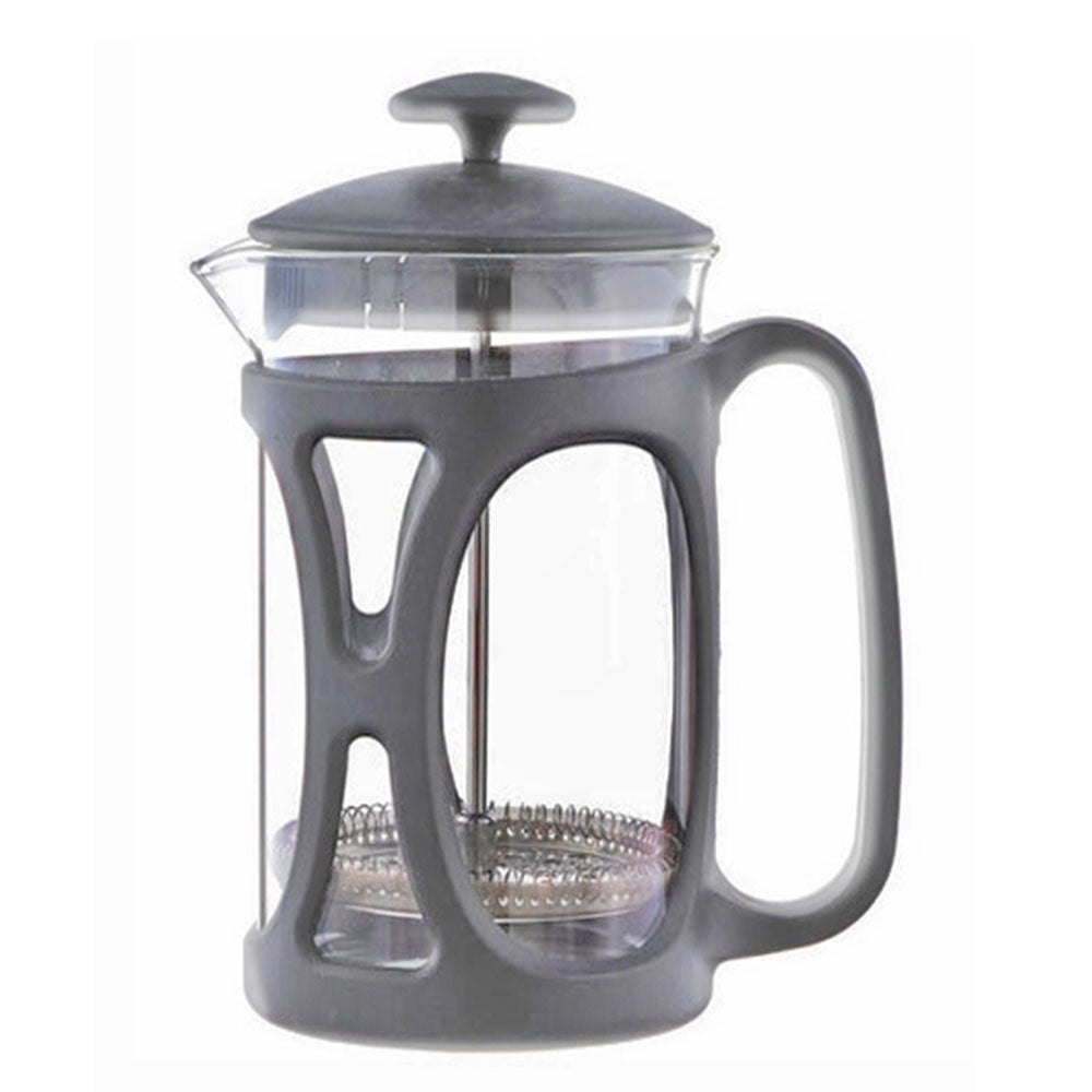 French Press: BASEL Grey | 800 ml | Pack of 4