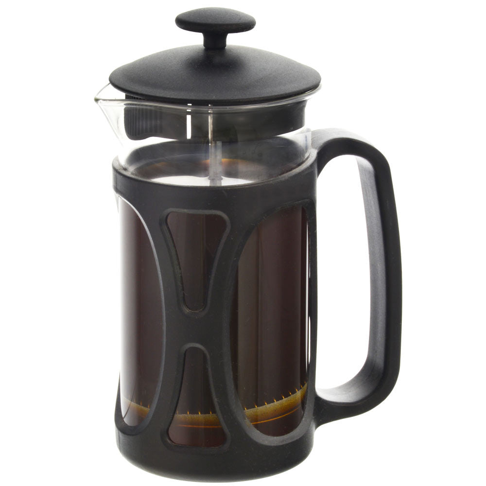 French Press: Basel Black | 350 Ml | Pack Of 4 - French Press