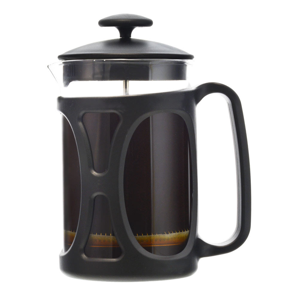 GROSCHE BASEL Small French Press | Black 800ml