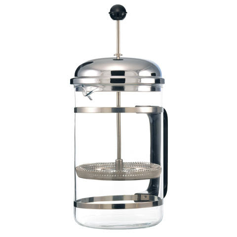 French Press: Grosche Denver With Cork Base - 1500Ml//51 Fl. Oz - Package Of 2 - French Press