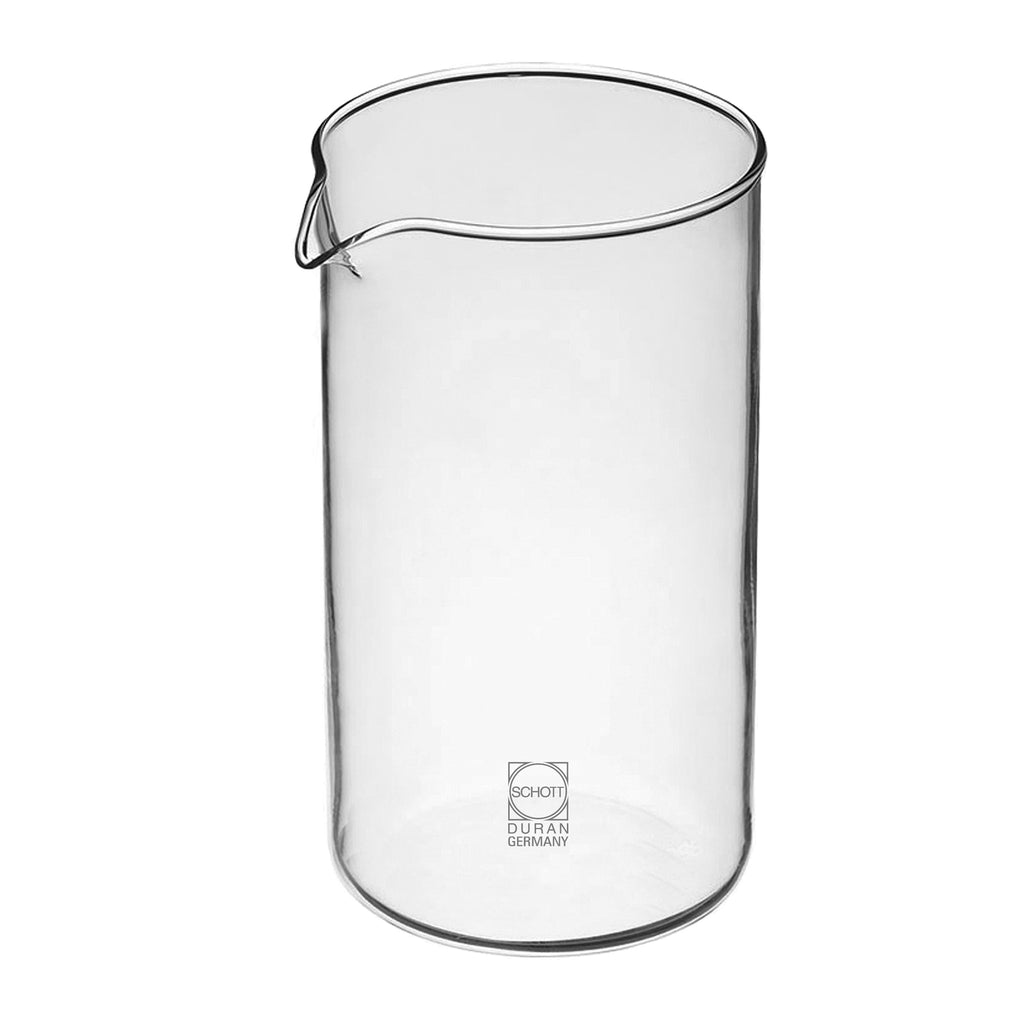Parts & Accessories: GROSCHE German SCHOTT Glass Replacement Beaker - 1000ml/34 fl. oz - Package of 4